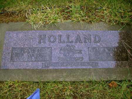 HOLLAND, HUGH H. - Tuscarawas County, Ohio | HUGH H. HOLLAND - Ohio Gravestone Photos