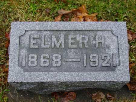 HOMRIGHOUSE, ELMER H. - Tuscarawas County, Ohio | ELMER H. HOMRIGHOUSE - Ohio Gravestone Photos