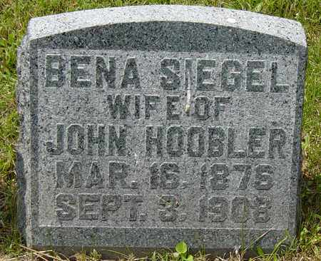 HOOBLER, BENA - Tuscarawas County, Ohio | BENA HOOBLER - Ohio Gravestone Photos