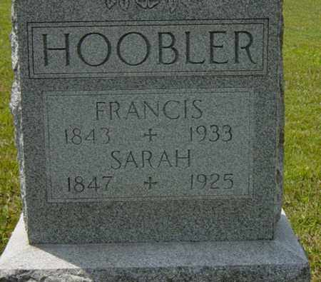 HOOBLER, FRANCIS - Tuscarawas County, Ohio | FRANCIS HOOBLER - Ohio Gravestone Photos