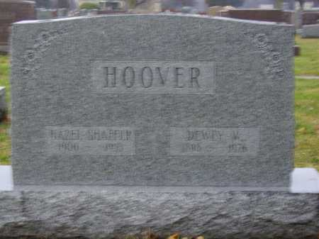 HOOVER, HAZEL SHAFFER - Tuscarawas County, Ohio | HAZEL SHAFFER HOOVER - Ohio Gravestone Photos