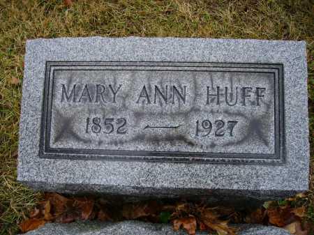 HUFF, MARY ANN - Tuscarawas County, Ohio | MARY ANN HUFF - Ohio Gravestone Photos