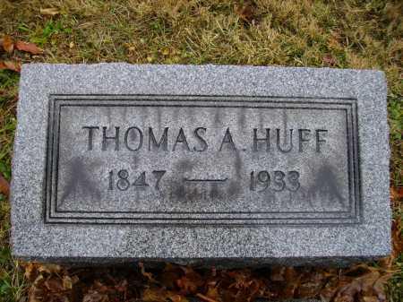 HUFF, THOMAS A. - Tuscarawas County, Ohio   THOMAS A. HUFF - Ohio Gravestone Photos