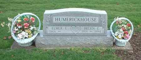 HUMERICKHOUSE, HELEN E. - Tuscarawas County, Ohio   HELEN E. HUMERICKHOUSE - Ohio Gravestone Photos
