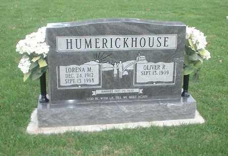 HUMERICKHOUSE, OLIVER R - Tuscarawas County, Ohio | OLIVER R HUMERICKHOUSE - Ohio Gravestone Photos