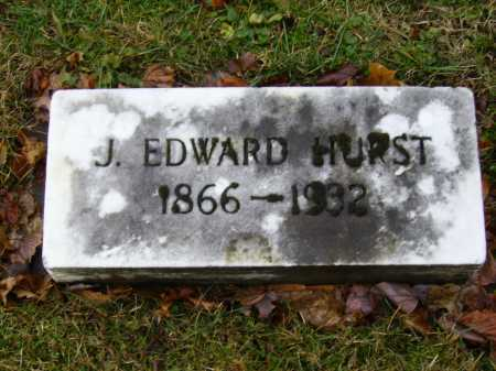HURST, JOHN EDWARD - Tuscarawas County, Ohio | JOHN EDWARD HURST - Ohio Gravestone Photos