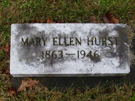 BENFER HURST, MARY ELLEN - Tuscarawas County, Ohio   MARY ELLEN BENFER HURST - Ohio Gravestone Photos