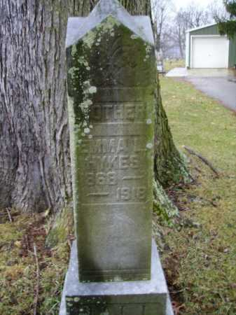 HYKES, EMMA L. - Tuscarawas County, Ohio | EMMA L. HYKES - Ohio Gravestone Photos