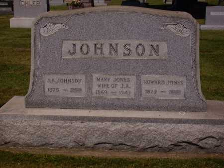 JONES JOHNSON, MARY ANN - Tuscarawas County, Ohio | MARY ANN JONES JOHNSON - Ohio Gravestone Photos