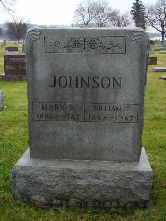 JOHNSON, WILLIAM E. - Tuscarawas County, Ohio   WILLIAM E. JOHNSON - Ohio Gravestone Photos