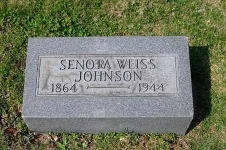 JOHNSON, SENORA - Tuscarawas County, Ohio | SENORA JOHNSON - Ohio Gravestone Photos