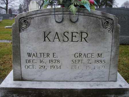 KASER, GRACE M. - Tuscarawas County, Ohio | GRACE M. KASER - Ohio Gravestone Photos