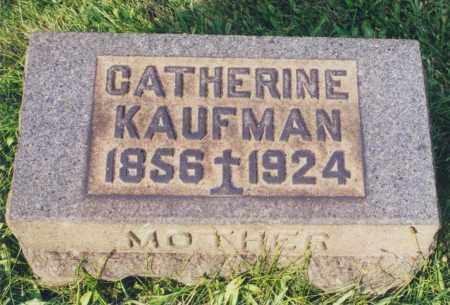 KAUFMAN, CATHERINE - Tuscarawas County, Ohio | CATHERINE KAUFMAN - Ohio Gravestone Photos