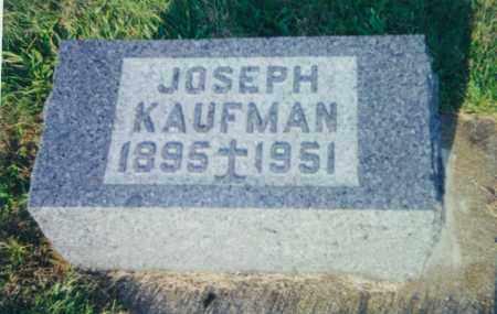 KAUFMAN, JOSEPH - Tuscarawas County, Ohio | JOSEPH KAUFMAN - Ohio Gravestone Photos