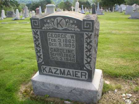 KAZMAIER, GEORGE W. - Tuscarawas County, Ohio | GEORGE W. KAZMAIER - Ohio Gravestone Photos