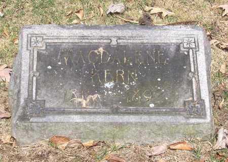 KERN, MAGDALENE - Tuscarawas County, Ohio | MAGDALENE KERN - Ohio Gravestone Photos