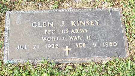 KINSEY, GLEN J. - Tuscarawas County, Ohio | GLEN J. KINSEY - Ohio Gravestone Photos