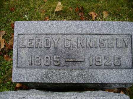 KNISELY, LEROY C - Tuscarawas County, Ohio | LEROY C KNISELY - Ohio Gravestone Photos