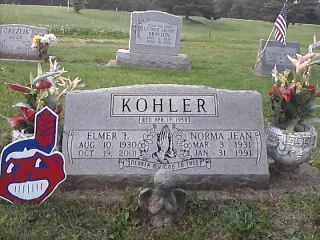 KOHLER, ELMER - Tuscarawas County, Ohio | ELMER KOHLER - Ohio Gravestone Photos
