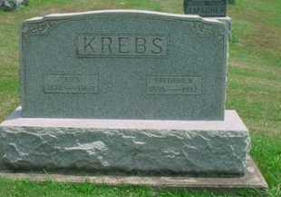 KREBS, ELIZA - Tuscarawas County, Ohio   ELIZA KREBS - Ohio Gravestone Photos