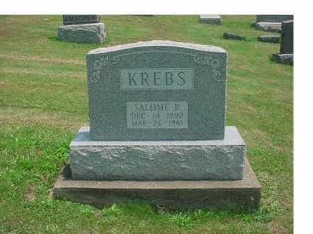 KREBS, SALOME R - Tuscarawas County, Ohio | SALOME R KREBS - Ohio Gravestone Photos