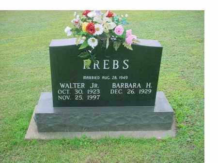 KREBS, WALTER JR - Tuscarawas County, Ohio | WALTER JR KREBS - Ohio Gravestone Photos