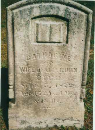 BENFER KUHN, CATHERINE ANN - Tuscarawas County, Ohio | CATHERINE ANN BENFER KUHN - Ohio Gravestone Photos