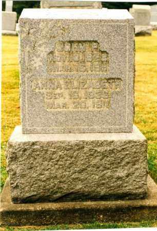 KUHN, ANNA ELIZABETH - Tuscarawas County, Ohio | ANNA ELIZABETH KUHN - Ohio Gravestone Photos