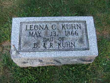 KUHN, LEONA CATHERINE - Tuscarawas County, Ohio | LEONA CATHERINE KUHN - Ohio Gravestone Photos