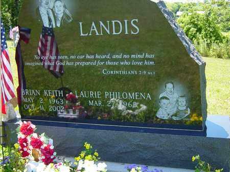 LANDIS, BRIAN KEITH - Tuscarawas County, Ohio   BRIAN KEITH LANDIS - Ohio Gravestone Photos