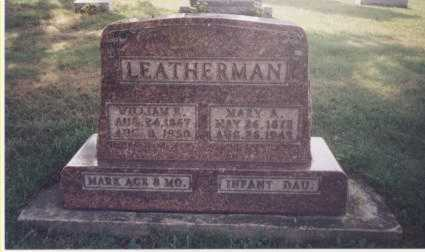 LEATHERMAN, MARY A. - Tuscarawas County, Ohio | MARY A. LEATHERMAN - Ohio Gravestone Photos