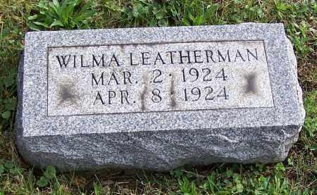 LEATHERMAN, WILMA - Tuscarawas County, Ohio | WILMA LEATHERMAN - Ohio Gravestone Photos