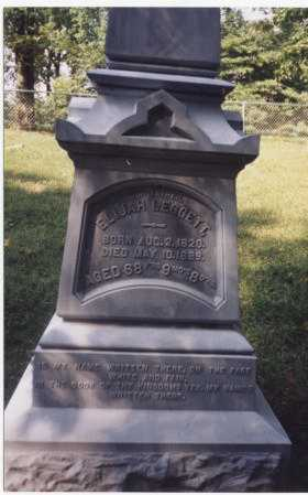 LEGGETT, ELIJAH - Tuscarawas County, Ohio | ELIJAH LEGGETT - Ohio Gravestone Photos