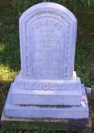 LEGGETT, ERNEST - Tuscarawas County, Ohio | ERNEST LEGGETT - Ohio Gravestone Photos