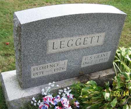 LEGGETT, U.S.GRANT - Tuscarawas County, Ohio | U.S.GRANT LEGGETT - Ohio Gravestone Photos