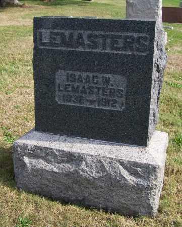 LEMASTERS, ISAAC W. - Tuscarawas County, Ohio   ISAAC W. LEMASTERS - Ohio Gravestone Photos