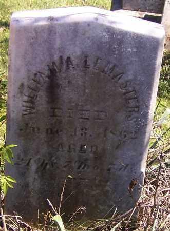 LEMASTERS, WILLIAM - Tuscarawas County, Ohio | WILLIAM LEMASTERS - Ohio Gravestone Photos