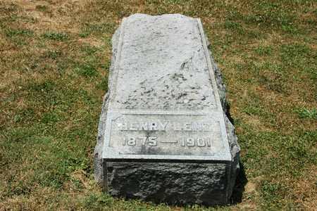 LENZ, HENRY - Tuscarawas County, Ohio | HENRY LENZ - Ohio Gravestone Photos