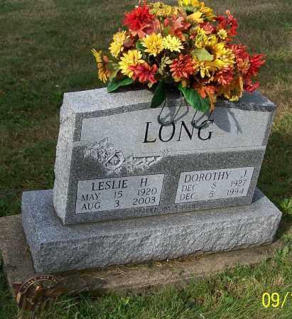 LONG, DOROTHY J. - Tuscarawas County, Ohio | DOROTHY J. LONG - Ohio Gravestone Photos
