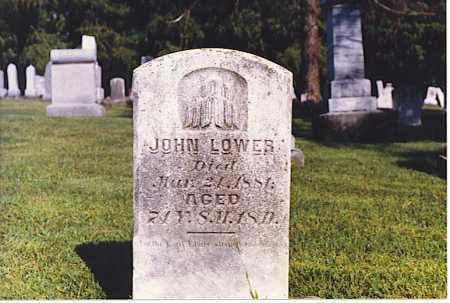 LOWER, JOHN - Tuscarawas County, Ohio | JOHN LOWER - Ohio Gravestone Photos