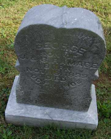 MAGE, GEORGE - Tuscarawas County, Ohio | GEORGE MAGE - Ohio Gravestone Photos
