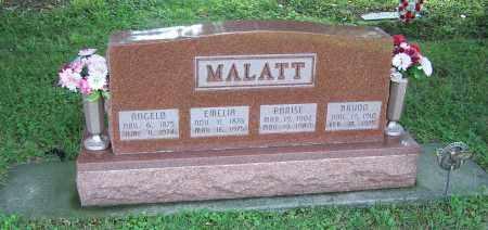 MALATT, ANGELO - Tuscarawas County, Ohio | ANGELO MALATT - Ohio Gravestone Photos