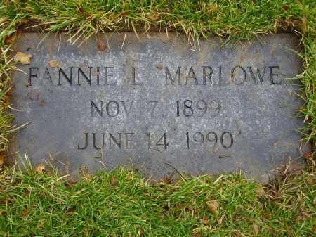 MARLOWE, FANNIE L. - Tuscarawas County, Ohio | FANNIE L. MARLOWE - Ohio Gravestone Photos