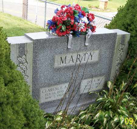 MARTY, CLARENCE A. - Tuscarawas County, Ohio | CLARENCE A. MARTY - Ohio Gravestone Photos