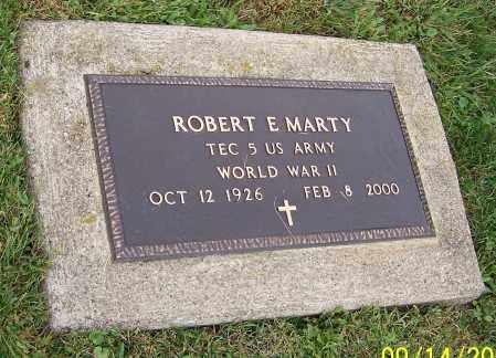 MARTY, ROBERT E. - Tuscarawas County, Ohio   ROBERT E. MARTY - Ohio Gravestone Photos
