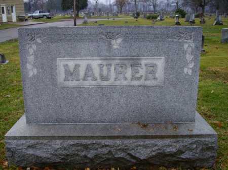 MAURER FAMILY, MONUMENT #2 - Tuscarawas County, Ohio | MONUMENT #2 MAURER FAMILY - Ohio Gravestone Photos