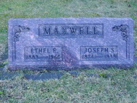 MAXWELL, ETHEL E. - Tuscarawas County, Ohio | ETHEL E. MAXWELL - Ohio Gravestone Photos