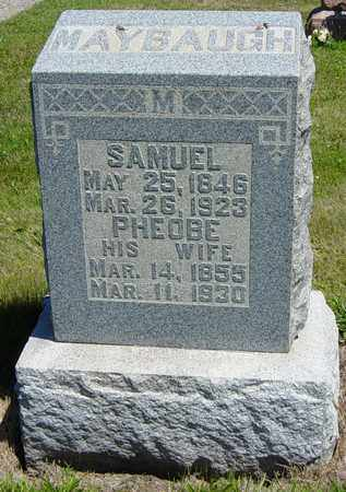 MAYBAUGH, SAMUEL - Tuscarawas County, Ohio | SAMUEL MAYBAUGH - Ohio Gravestone Photos