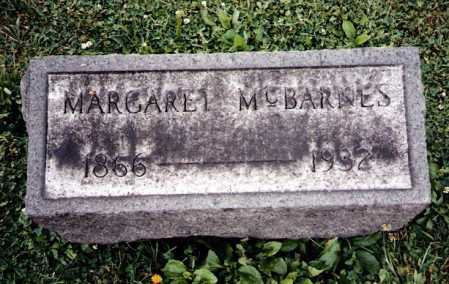 MCBARNES, MARGARET - Tuscarawas County, Ohio | MARGARET MCBARNES - Ohio Gravestone Photos