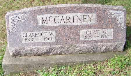 MCCARTNEY, OLIVE G. - Tuscarawas County, Ohio   OLIVE G. MCCARTNEY - Ohio Gravestone Photos